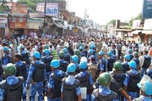 Crying muzaffarnagar 'no more communal violence'