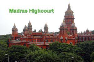 मद्रास हाईकोर्ट पर संसद मे कोहराम