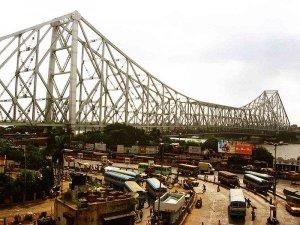 हावड़ा ब्रिज, कलकत्ता